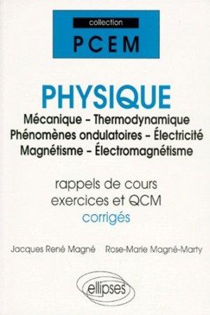 Physique - ellipses - 9782729857332 -