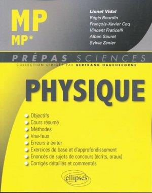 Physique MP* - ellipses - 9782729860165 -