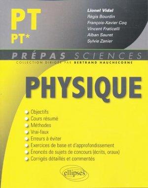 Physique PT PT* - ellipses - 9782729860196 -