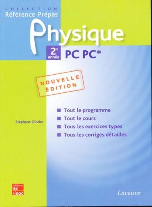 Physique 2ème année PC PC* - lavoisier / tec et doc - 9782743011277 -