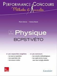 Physique 1ère année BCPST - Véto - lavoisier / tec et doc - 9782743015220 -