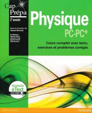 Physique  PC - PC*2e année - pearson - 9782744075513 -