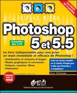 Photoshop 5 et 5.5 - osman eyrolles multimedia - 9782746401709 -