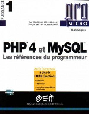 PHP 4 et MySQL - osman eyrolles multimedia - 9782746402331 -