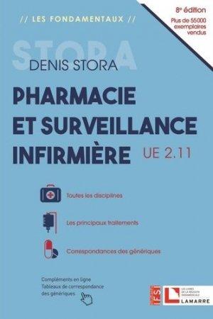 Pharmacie et surveillance infirmière - lamarre - 9782757310977 -