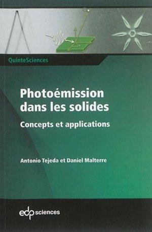 Photoémission dans les solides - edp sciences - 9782759817733