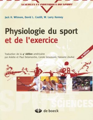 Physiologie du sport et de l'exercice - de boeck superieur - 9782804101589 -