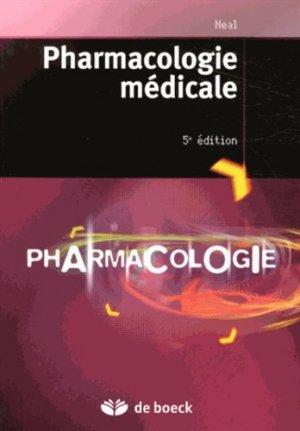Pharmacologie médicale - de boeck superieur - 9782804181772 -
