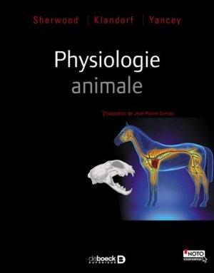 Physiologie animale - de boeck superieur - 9782807302860 -