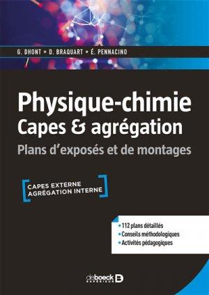 physique-chimie capes #038; agregation - de boeck superieur - 9782807314412
