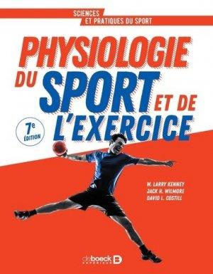 Physiologie du sport et de l'exercice - de boeck supérieur - 9782807326217 -