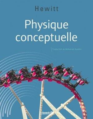 Physique conceptuelle (version luxe) - de boeck supérieur - 9782807331112 -