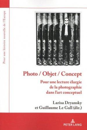 Photo / objet / concept - Peter Lang - 9782807609709 -