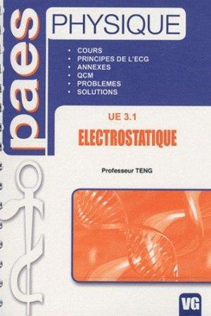 Physique - Electrostatique UE 3.1 - vernazobres grego - 9782818301838