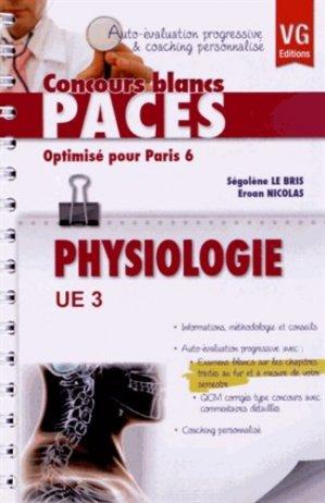 Physiologie UE3  (Paris 6) - vernazobres grego - 9782818307120
