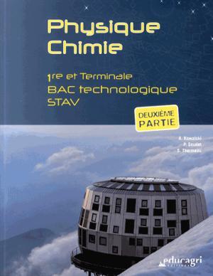 Physique Chimie - educagri - 9782844449696 -