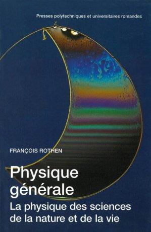 Physique générale - presses polytechniques et universitaires romandes - 9782880743963