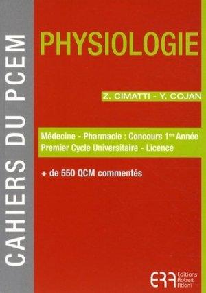 Physiologie - era grego - 9782907283571