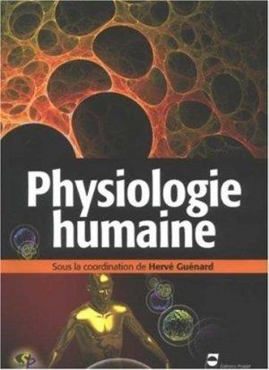 Physiologie humaine - pradel - 9782913996762 -