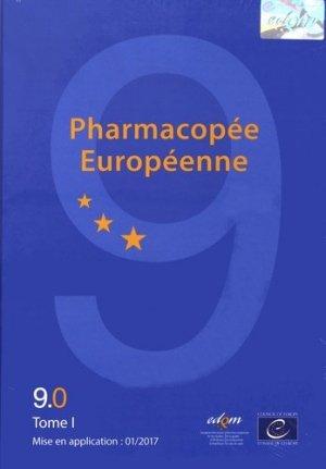 Pharmacopée européenne 9ème édition 9.0, 9.1, 9.2 - edqm / conseil de l'europe - 9789287181329 -