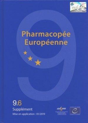 Pharmacopée européenne - Conseil de l'Europe - 9789287185044 -
