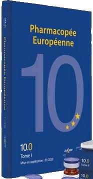 Pharmacopée européenne 10ème édition 10.0, 10.1, 10.2 - edqm / conseil de l'europe - 9789287189226 -