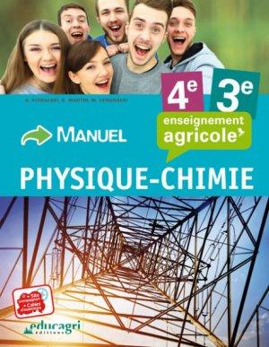 Physique Chimie - 4e et 3e - educagri - 9791027501298 -