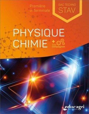 Physique Chimie 1re et Terminale Bac technologique STAV - Educagri - 9791027503193 -