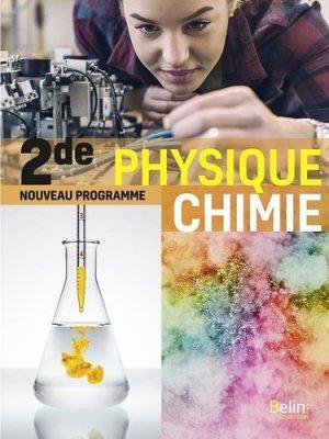 Physique chimie 2de - belin - 9791035802011 -
