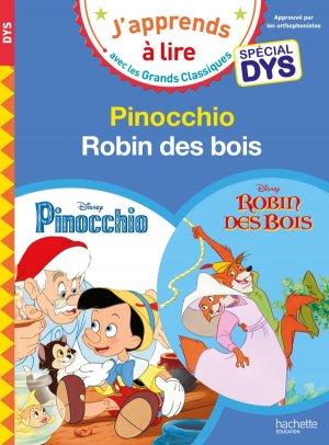 Pinocchio ; Robin des Bois - hachette - 9782017081012