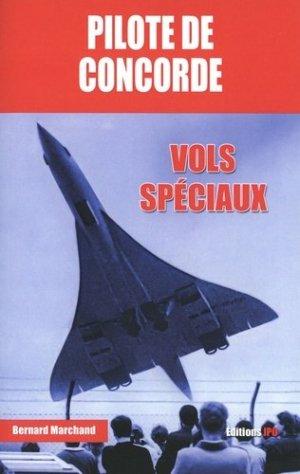 Pilote de Concorde - jpo - jean-pierre otelli editions - 9782373011234 -