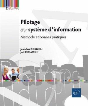 Pilotage d'un système d'information - eni - 9782409008092 -