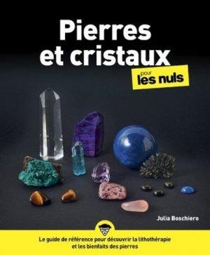 Pierres et cristaux pour les nuls - First - 9782412048290 -