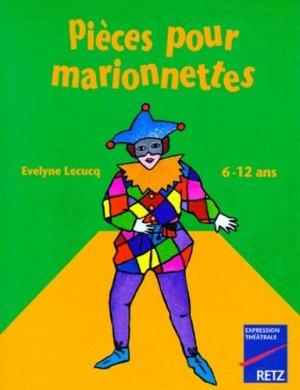 Pièces pour marionnettes - Retz - 9782725614106 -