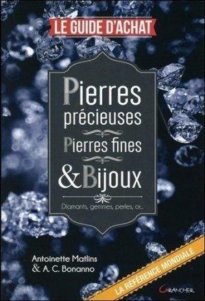 Pierres précieuses - Pierres fines & Bijoux - grancher - 9782733913895 -