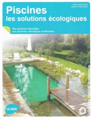 Piscines les solutions écologiques - ulmer - 9782841383986 -
