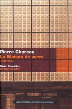 Pierre Chareau - Editions Jean-Michel Place - 9782858935796 -