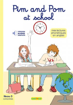 Pim and Pom at School - chattycat - 9791096106271