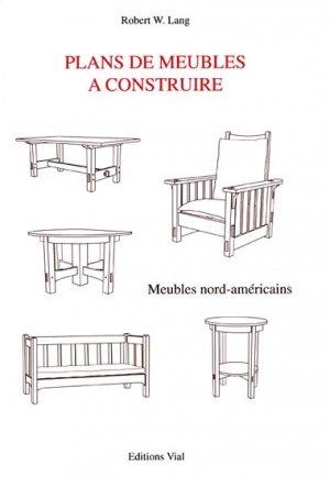 Plans de meubles à construire - vial - 9782851010919 -
