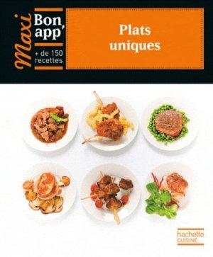Plats uniques - Hachette - 9782012304307 -