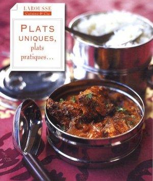 Plats uniques, plats pratiques... - Larousse - 9782035841261 -