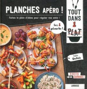 Planches apéro ! - Larousse - 9782035955104 -