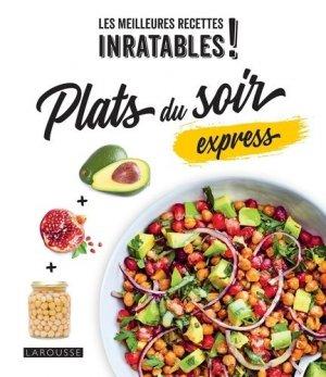 Plats du soir express - Larousse - 9782035997029 -