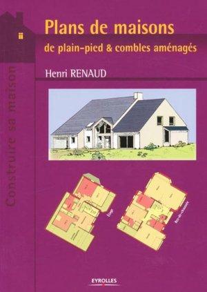 Plans de maisons - eyrolles - 9782212115178 -