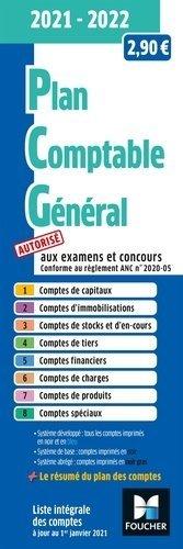 Plan comptable général - PCG - 2021-2022  - foucher - 9782216161287 -