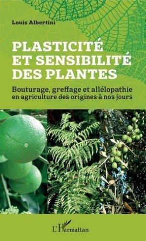 Plasticité et sensibilité des plantes - l'harmattan - 9782343190334 -