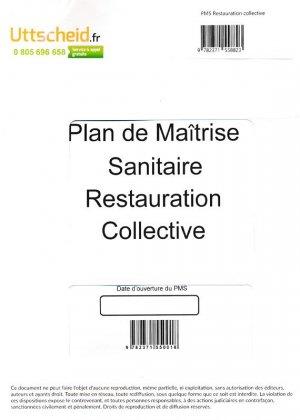 Plan de Maîtrise Sanitaire (PMS) Restauration collective - uttscheid - 9782371558823 -