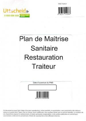 Plan de Maîtrise Sanitaire (PMS) Traiteur - uttscheid - 9782371559868 -