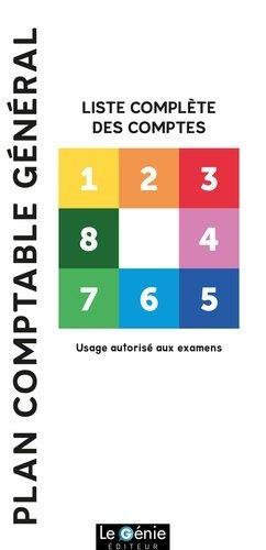 Plan comptable général - le genie - 9782375630235 -