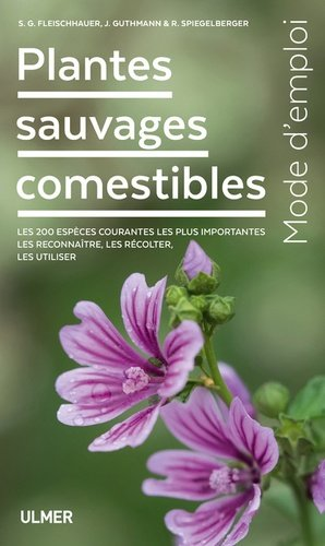 Plantes sauvages comestibles - Ulmer - 9782379220715 -